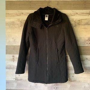 NorthFace Womens Winter coat quilted fur medium